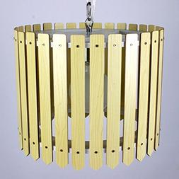 HQLCX Chandelier Modern Chinese Chandelier Vintage Wood Pers