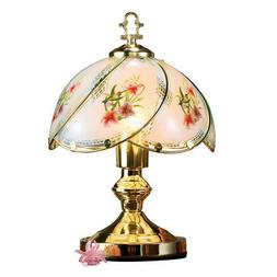 Collections Etc Hummingbird Desk Touch Lamp