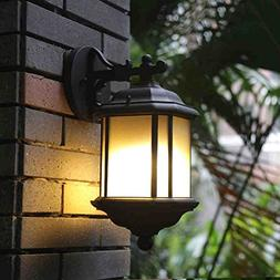 505 HZB Modern European Outdoor Wall Lamp, Waterproof Sun Ta