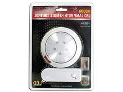 bulk buys Indoor LED Lamp With Remote Control - Pack of 8