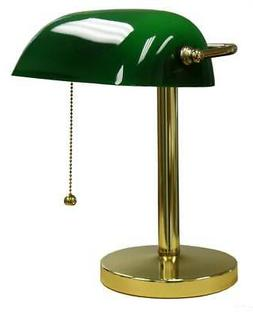 ORE International KT-188GR Bankers Lamp, 12.5-Inch Height, G