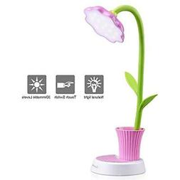 Kids Lighting & Ceiling Fans Lamp, LED Desk Touch Control Di