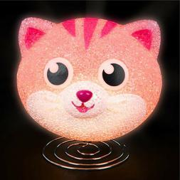 KITTEN LAMP kids children room table bed desk night light de