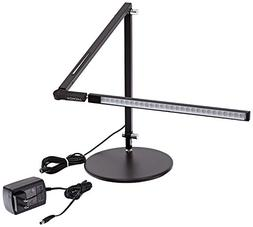 Koncept Z-Bar Mini Desk Light with Cool Light in Metallic Bl