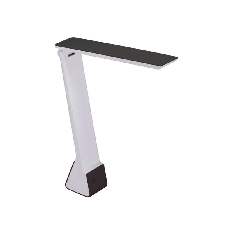 11 In. Black Battery Powered Led Desk Lamp With Rechargeable