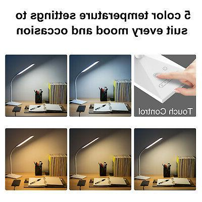 12W Touch Sensor Dimmable Table Read light