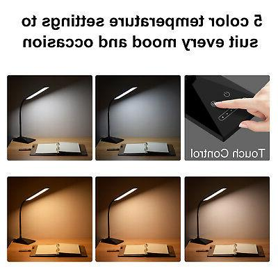 12W Touch Dimmable Desk Table Bedside Reading light
