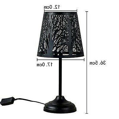"15"" Bed Table Lamp Desk with"
