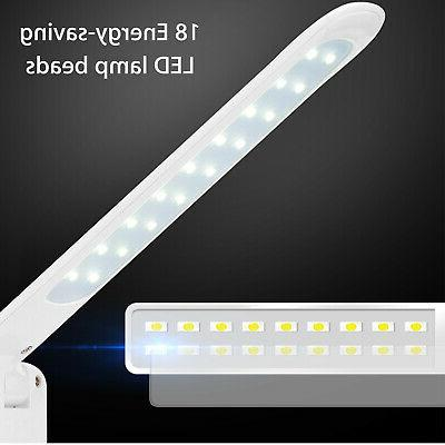 18 USB Port Reading Lamp Touch LED Light