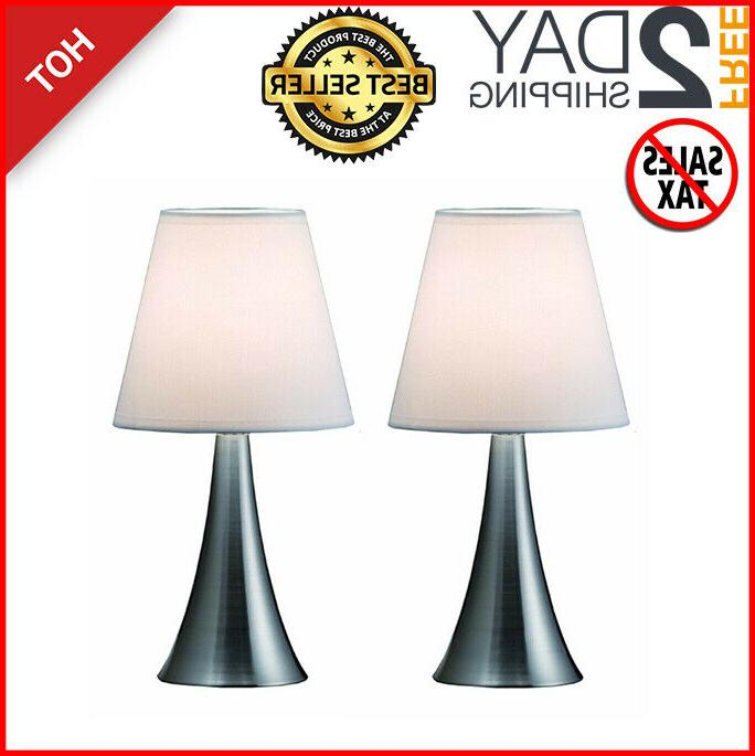 2 pack table lamps simple designs touch