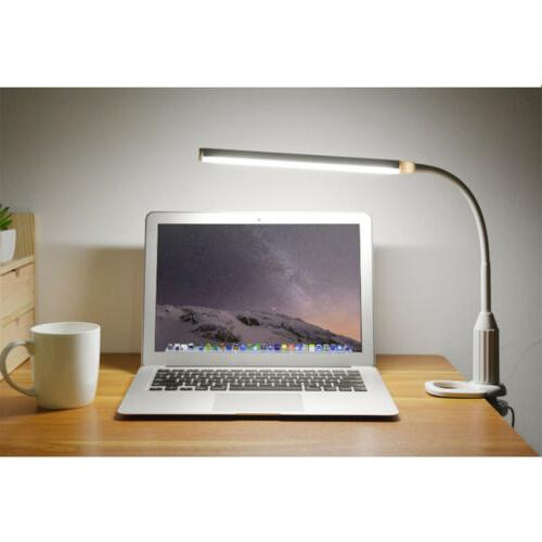 Adjustable Architect Arm LED Desk Lamp Clamp-on Table Light