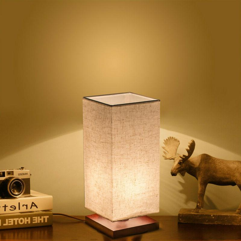 Minimalist Table Fabric Desk Light Living US