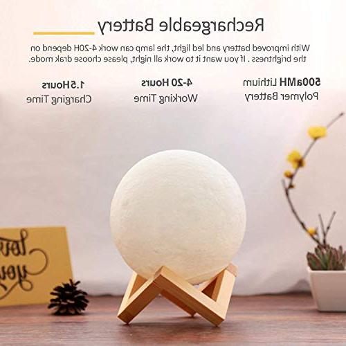 ACED Moon Night Changing, Touch LED Moonlight Lamps for Bedrooms, Day Cool Christmas