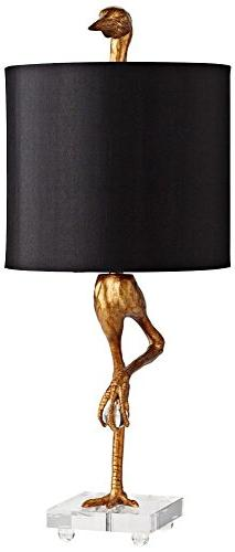 "Cyan Design 5206s Table Lamp with Black Shade Shades, 35"" x"
