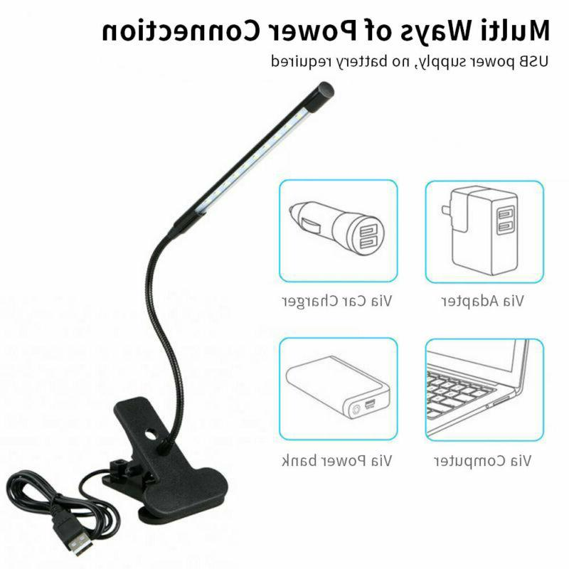 5W Clip-On Lamp Reading light Dimmable Lamps