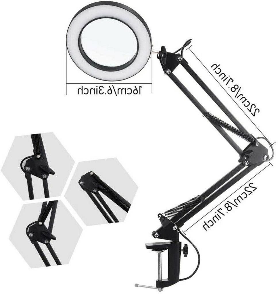 5X Magnification Lamp Desk Clamp