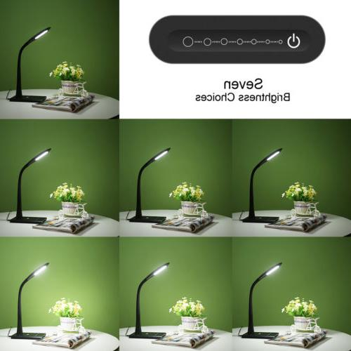 LE Dimmable Desk Lamp, — reading/