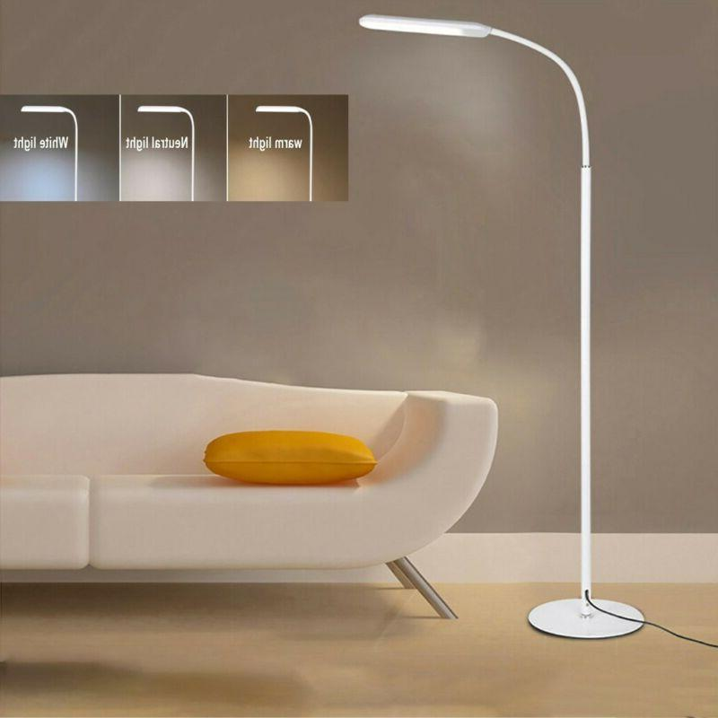 Adjustable LED Floor Light Standing Reading Dimmable Control