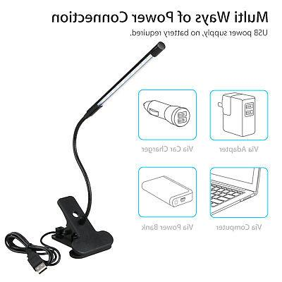 Adjustable USB Studying Clip-on Bed USA