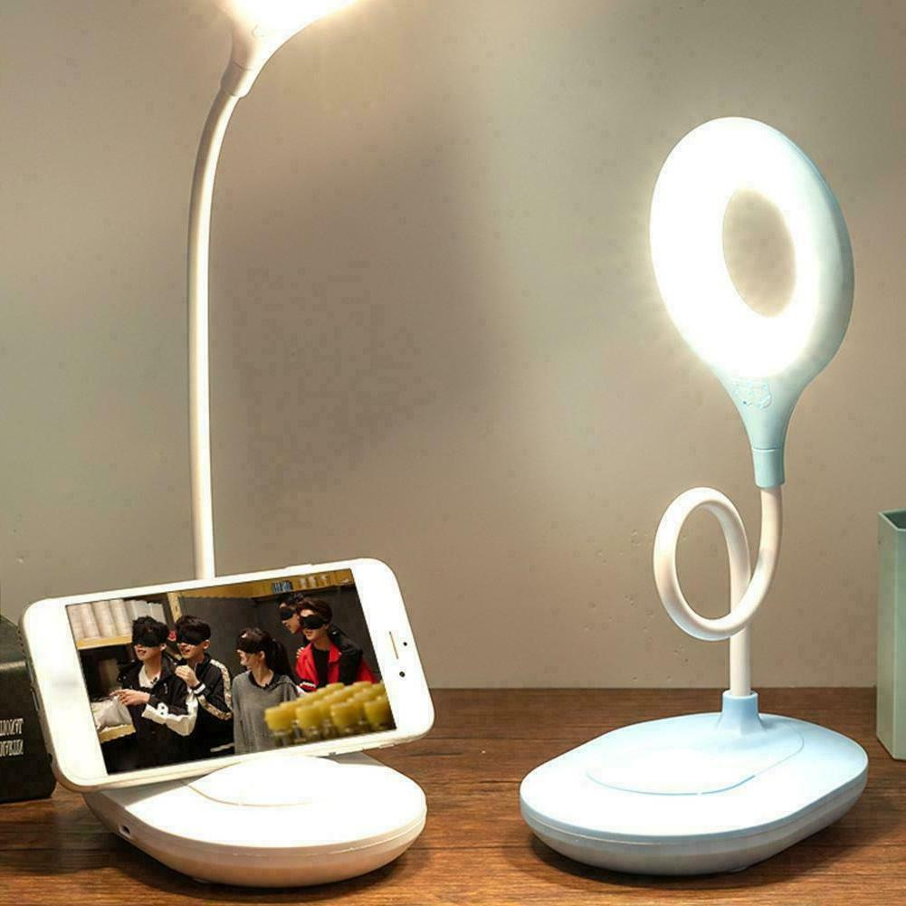 Lampat LED Desk Lamp, Dimmable LED Table Lamp Black, 4 Light