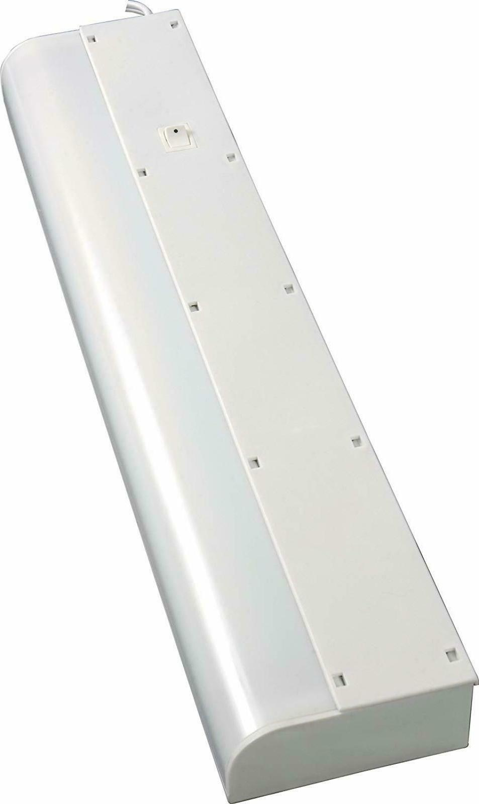 GE Basic 18 Inch Fluorescent Under Cabinet Light Fixture, Pl