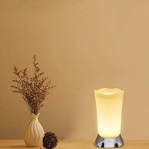 Cordless for Home With Sensor, Small Kitchen Table Lamps, Decorative Night Lights Living Room Soft Glow Lamps Baby Room