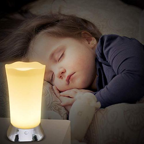 Cordless Battery Operated for Home With Sensor, Kitchen Decorative Night Lights Living Glow Room