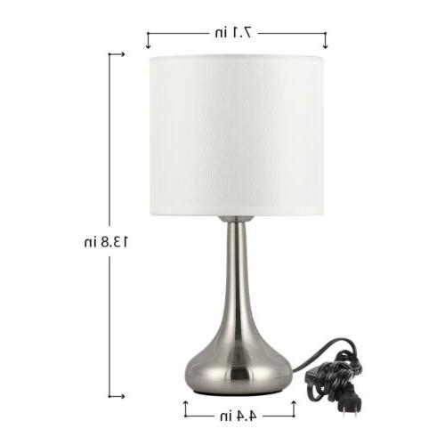 HAITRAL -Small Modern Lamp with Fabric