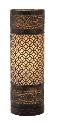 Plutus Brands Bright Attractive Styled Metal Cylinder Table