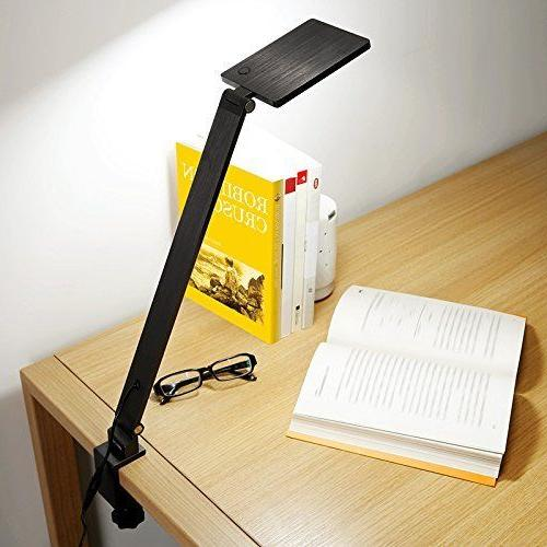 Clamp Lamp, BESTEK 2 in 1 Dimmable Lamp with Clip