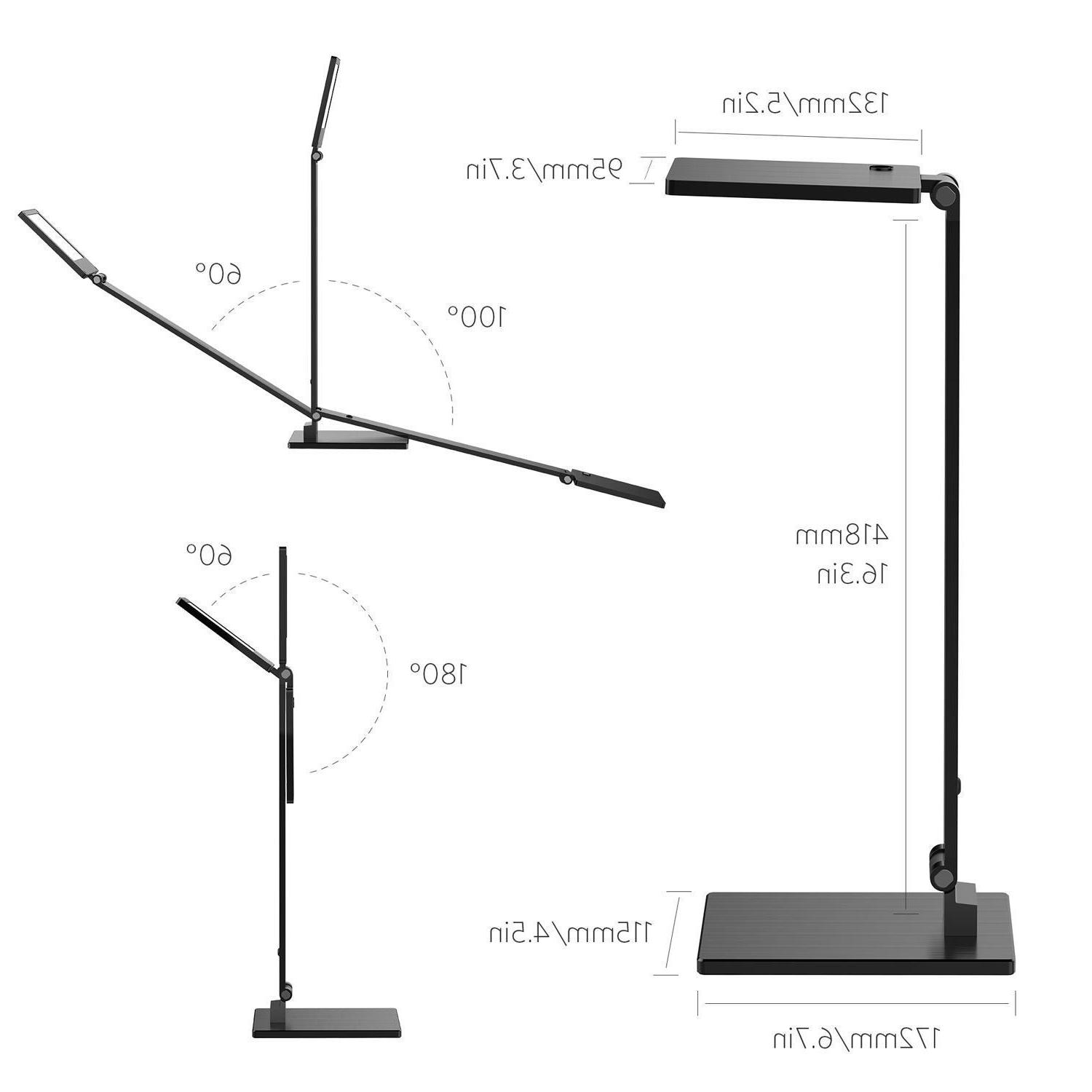 Clamp Lamp, in 1 Dimmable Table Lamp Clip