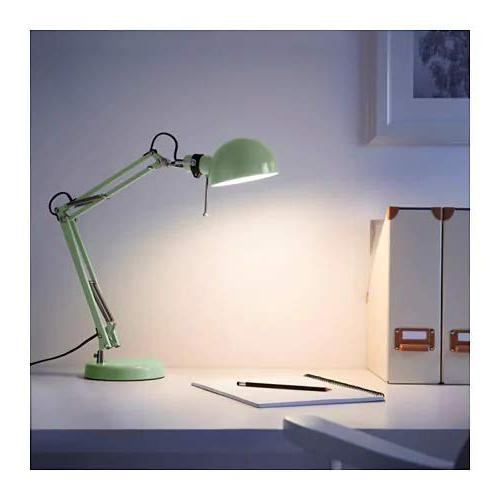 Classic Work Desk Green for Home Office, IKEA 103.214.25