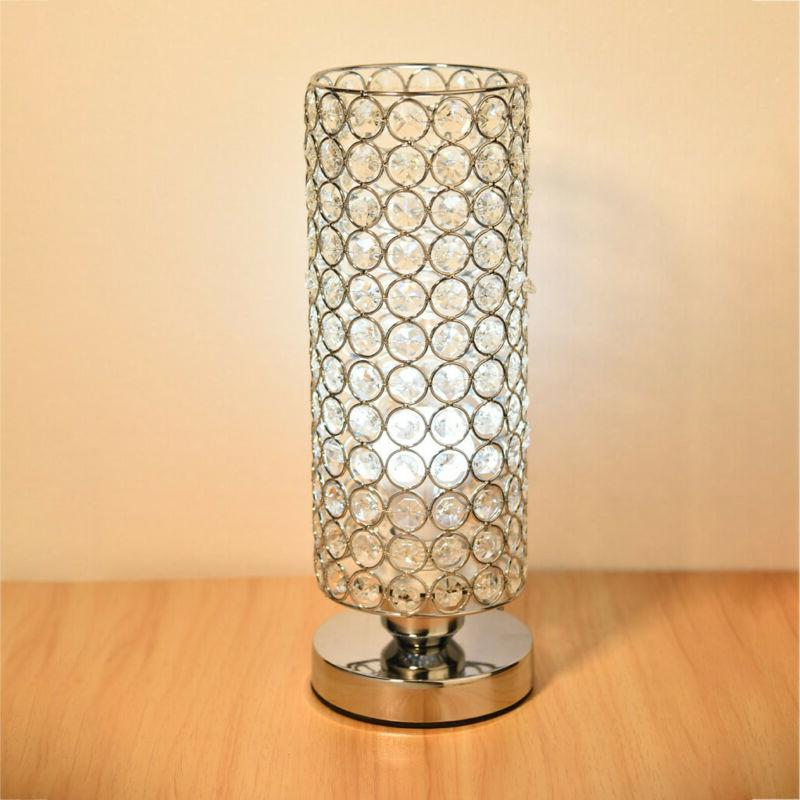 Crystal Nightstand Light Room Lamp For Valentines Sto