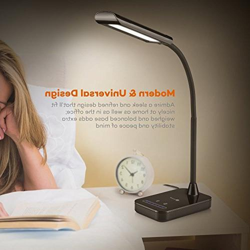 TaoTronics LED Flexible 7W, 5 with Brightness Touch
