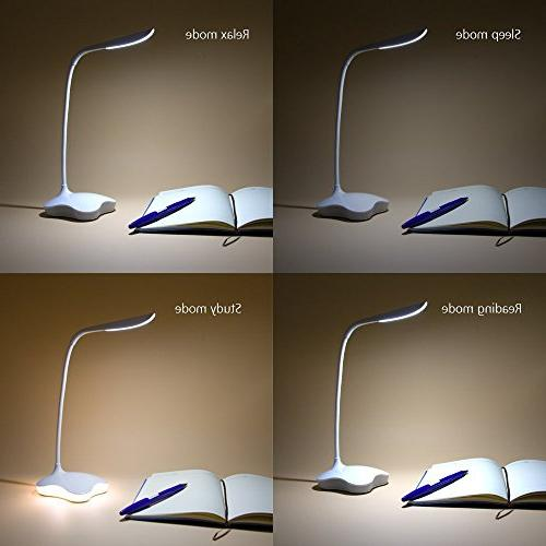 XIAOKOA LED Lamp, Eye Protection Lamp and Touch Tube,14LED Table