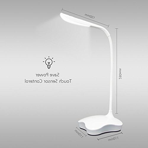 XIAOKOA Eye Lamp with and Touch Tube,14LED Table