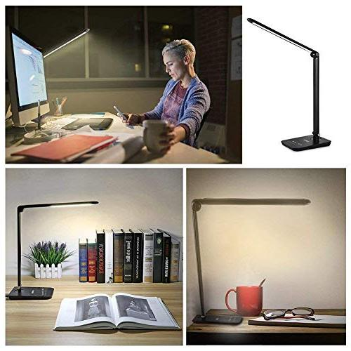 Dimmable 4 Lighting 7-Level Dimmer, Touch-Sensitive Panel, Desk Bedroom Lamps
