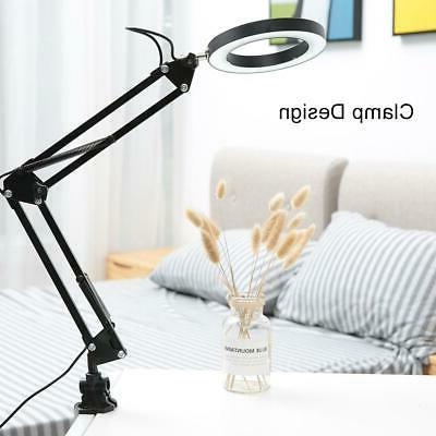 Desk Flexible Arm Clamp Light Home Study