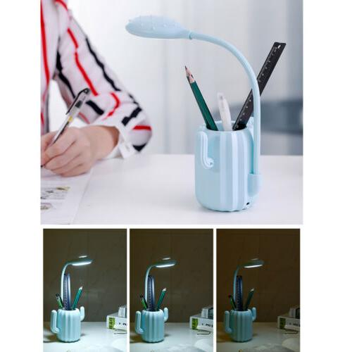 Desk Lamp with Pen Holder Table Lamp Home