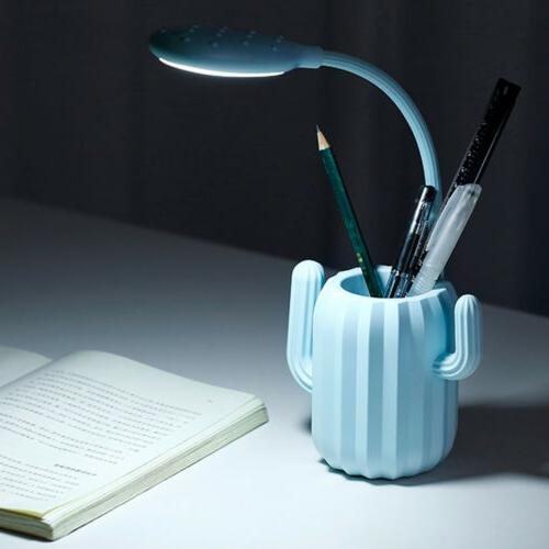 Desk Lamp LED with Pen Eye Table for Home Office Work