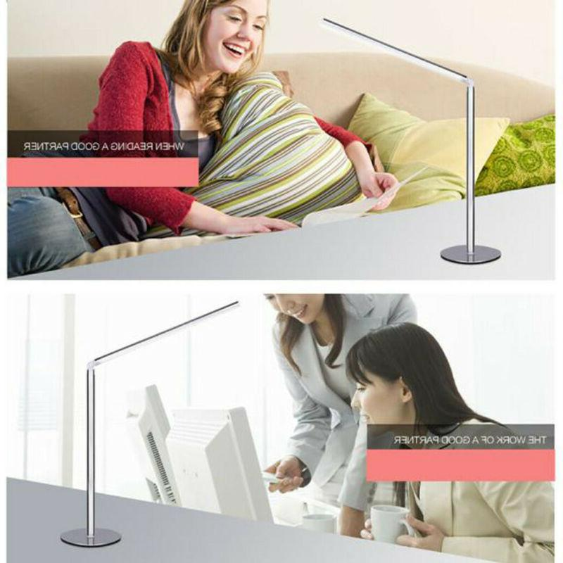 LED Bulb Desk Lamp Metal Switch Type Table Study