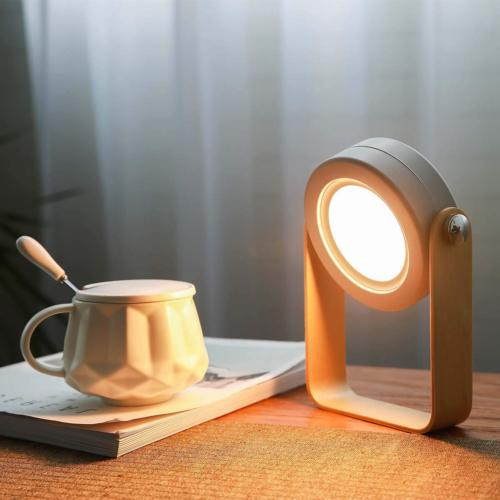 Desk Lamp, Touch Table Lamp, Nightstand Bedside Lamps for Be