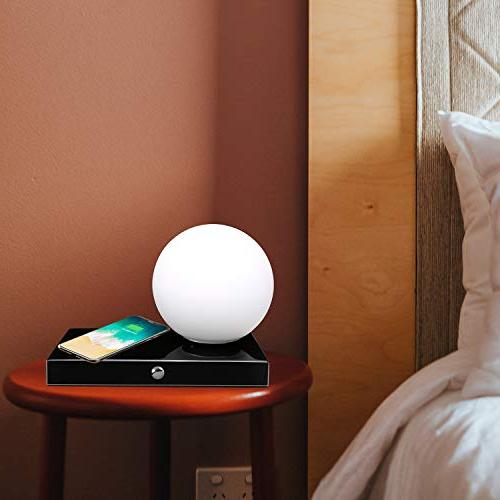 SUNPIN Desk with with Brightness Level, Dimmable Eye-Care Lighting/Bedside Lamp with Smart