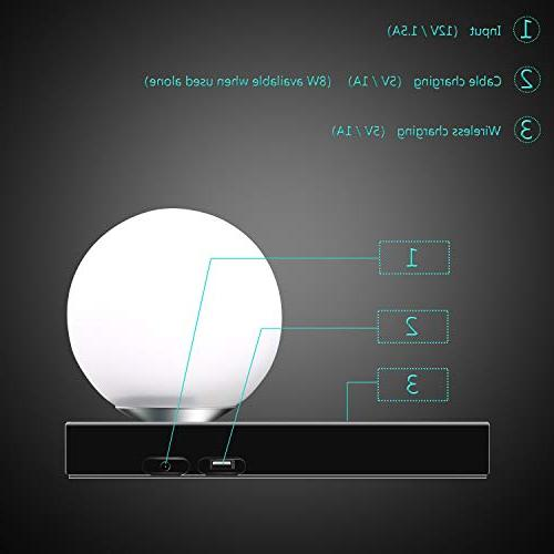 SUNPIN Led Desk with Control, Dimmable Lighting/Bedside Smart