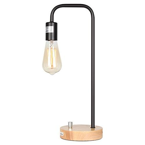 HAITRAL Lamp Industrial Table Lamp Office, Bedroom,