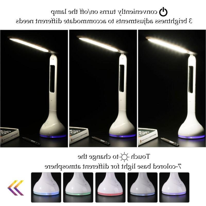 dimmable led desk lamp w touch control