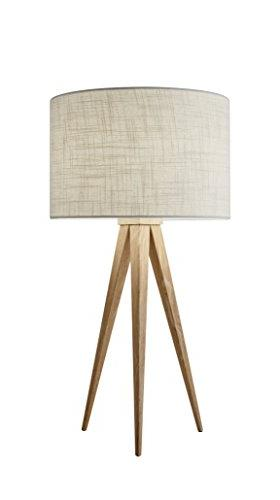 26.25 Adesso 6423-12 Director Table Lamp Natural