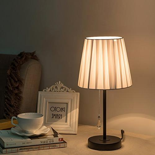 Lanros Lamp Chain Switch and Lamp Simple Style Modern Light Bedrooms,Living Room, Hotel