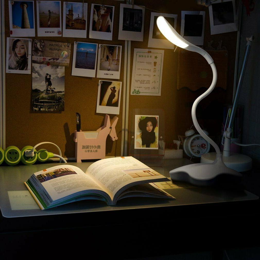 Flexible LED Desk Lamp Office Dimmable Light