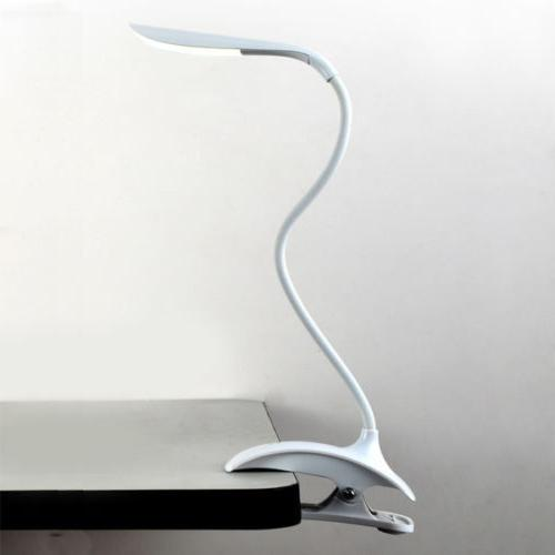 Flexible USB Touch Sensor LED Clip-On Home Bed Table Desk Re